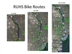 RUHS Bike Routes